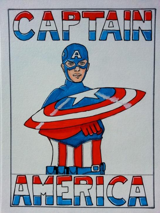 Captain America edited